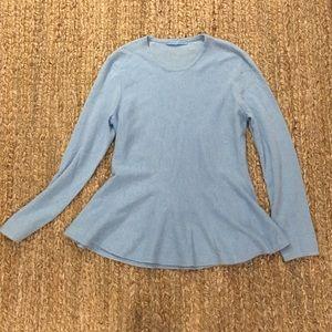 [Antonio Melani] Cashmere Peplum Sweater